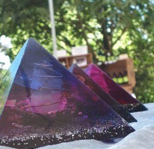 Orgonite pyramide
