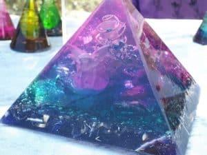 Pyramide- orgonite