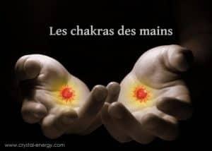 chakra des mains