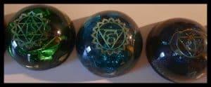 Demi sphère Chakras